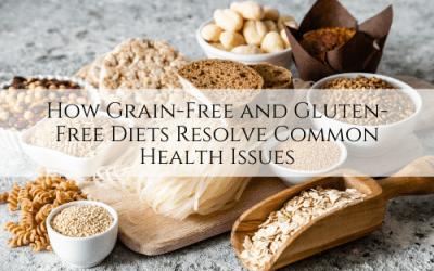 How Grain-Free and Gluten-Free Diets Resolve Common Health Issues